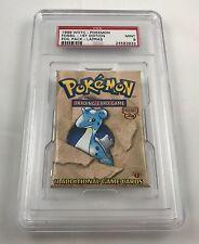 1999 WOTC Pokemon Fossil Lapras 1st Edition Foil Booster Pack PSA 9 Mint