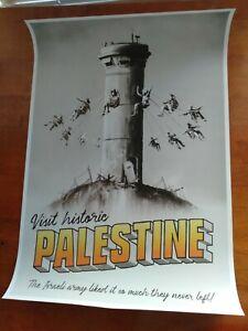 Brand New Condition Banksy Palestine Print