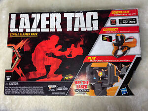 LAZER TAG Game Single Blaster Pack for iPhone/iPod Touch by HASBRO/NERF - New