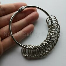 Extra Large (76mm) 20 x Multi-Ring Jailers Fob / Keyring / Split Ring (FREE P&P)
