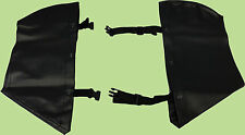 Engine Guard Chaps Soft Lowers for Harley Davidson Softail FLST FXST
