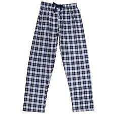 Pantalón Pijama Azul Hombre Cuadros Casa Caballeros Largo Primavera Ligero Ropa