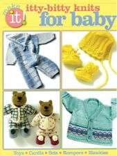 Knit Pattern Book ITTY BITTY Knits For BABY ~ Toys, Romper, Blanket, Cardis ++