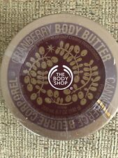 BODY SHOP Rare Retired Cranberry Body Butter 6.7 Oz, New Sealed