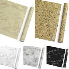 Marble Self Adhesive Wallpaper Wall Stickers Vinyl Counter Top Kitchen Cabinet