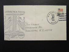US 1983 Antarctica Calling KC4USV Cacheted Cover / Fold - Z6788