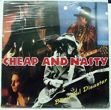 CHEAP AND NASTY BEAUTIFUL DISASTER LP 1991 SEALED