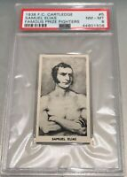 1938 F.C. Cartledge Famous Prize Fighters #5 Samuel Elias PSA 8 NM-MT