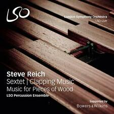 Steve Reich: Sextet, Clapping Music, Music For Pieces Of Wood - LSO P (NEW SACD)
