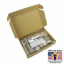 50value 1000pcs 1/2W Carbon Film Resistor Assortment Kit US Seller KITB0127