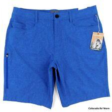 Royal Robbins Sz 38 Oceania Blue Coast Shorts 50+ Quick Dry Hiking Trail Shorts