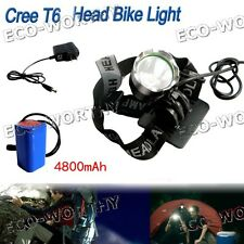 High power 800Lm 1*cree LED headlamp headlight zoomable waterproof bicycle