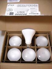 6 TCP DAYLIGHT 65 WATT EQUIVALENT LED BR30 FLOOD LIGHT BULBS NON DIMMABLE TESTED