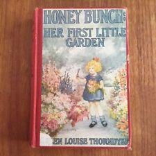 Children's book: Honey Bunch, her first little garden (1924), en anglais