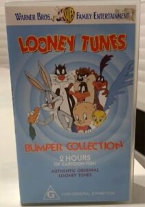 WB Looney Tunes Volume 8 VHS X 2 tapes Bumber collection