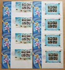 Singapore Thailand Joint Stamp Seashells Complete Set Expo Souvenir Covers offer