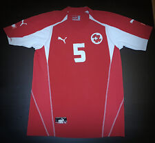 Switzerland Puma shirt maglia Euro 2004 XL Very Good Conditions