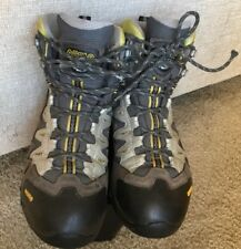 Asolo Mens Fugitive Gore-Tex Grey/ Suede Waterproof Hiking Boots Shoes Size 8.5