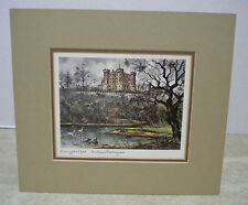 Art Print Konigsschloss Hohenschwangan Castle Germany by Maurice Legendre 1976