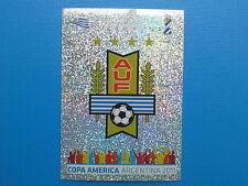 PANINI COPA AMERICA 2011 STICKER N.206 SCUDETTO URUGUAY