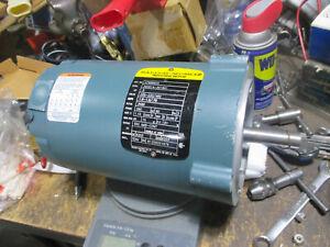 Baldor 3 phase motor Cat. # A799B9834 1/2 HP  3450 rpm 56C frame