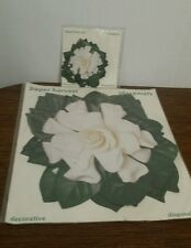 Vintage Disposable Placemats Set of 12 and Matching 12 Coasters Paper Harvest