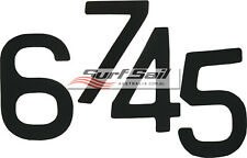 Self Adhesive World Sailing Specs 230mm Sail Numbers