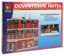 N Scale Downtown Hotel - Life Like, building kit