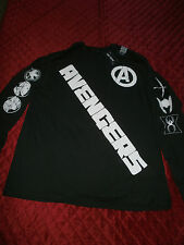HOT TOPIC THE  ANEVGERS LONG SLEEVE BLACK T SHIRT  XX LARGE