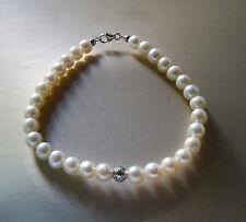 Bracciale Perle Kioto diametro 6 mm Oro Bianco 261B