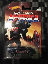 HOTWHEELS - Movie TV Diecast Car - CAPTAIN AMERICA - Marvel - RD-08 - 4/8