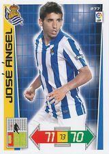 N°277 JOSE ANGEL # ESPANA  REAL SOCIEDAD CARD PANINI ADRENALYN LIGA 2013