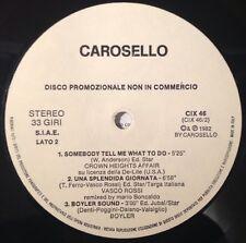 VASCO ROSSI - UNA SPLENDIDA GIORNATA - RARISSIMO DISCO PROMOZIONALE !!! - 1982