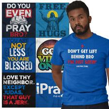 Religious Tee Shirt Christian T Shirts For Mens Womens Christ Gift TShirts Tees