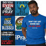 Religious Tee Shirt Christian T Shirts For Mens Womens Christ Gift TShirts Tees