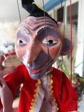 Pelham  puppet Wizard  original box hand made in England 1960s