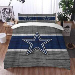 Dallas Cowboys 3PCS Bedding Set Of Duvet Cover&Pillowcases Quilt Cover US Size