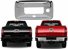 Chrome Tailgate Handle Cover For 2015-2017 Chevrolet Silverado / GMC Sierra New