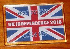 UK Independence Vote Leave Union jack flag Brexit fridge magnet