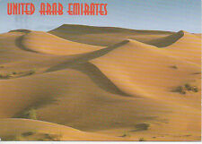 UNITED ARAB EMIRATES Picture Postcard 'impression of the desert' sand UAE arabia