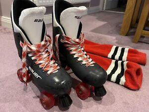 Bauer Turbo 33 Roller Boots Roller Skates Size 11 UK Varflex
