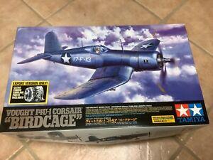 Tamiya Vought F4U-1 Bird Cage Corsair 1/32