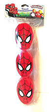 THE AMAZING SPIDER-MAN 3pc Treat Containers FIGURAL EGGS Head Shaped EASTER 2/2