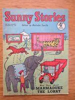 Vintage Sunny Stories Magazine October 22 1956 Malcolm Saville Marmaduke Lorry