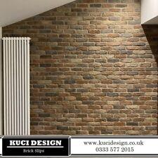 Camden Multi Brick Slips, Wall Cladding, Feature Wall, Brick Tiles SAMPLE