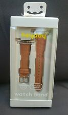 Heyday Faux Leather Band for Apple Watch - 38/40mm - Crocodile Brown