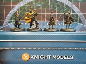 Knight Models-Harry Potter Hufflepuff Students-well painted minis (4)