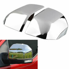 For 2015 2016 2017 2018 2019 2020 Ford F150 Top Half Chrome Side Mirror Covers