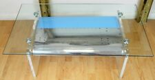 plane Acrylic Wing Coffee Table Upcycled decommissioned Boeing 757 aircraft
