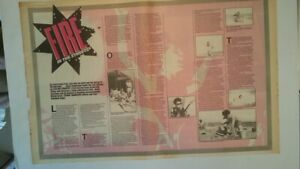 BIG COUNTRY 'Fire in the Streets' 1984 2 page UK ARTICLE / clipping